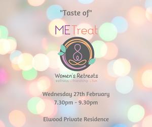 Taste of METreat Evening 27 February 2019