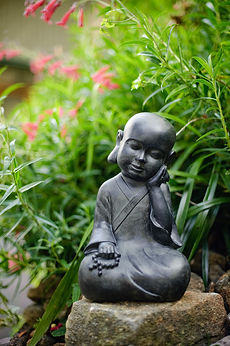 Buddha statue @ Amarant Retreat