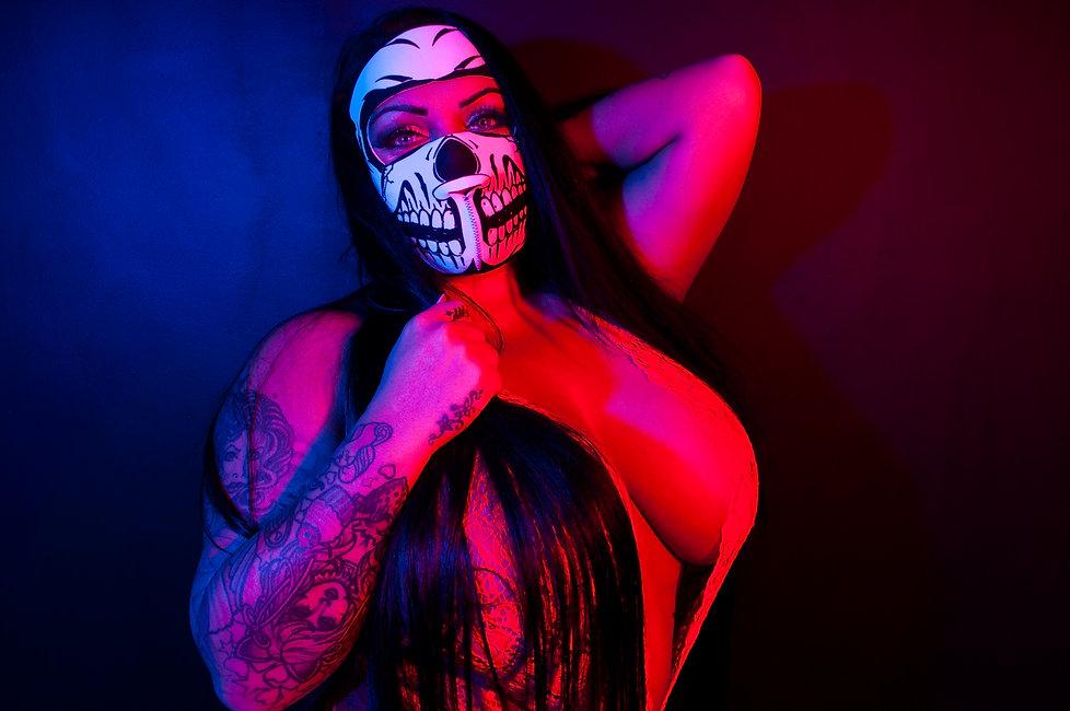 Alternative creative tattoo model photography