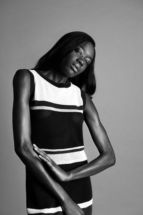B&W Female Fashion photography