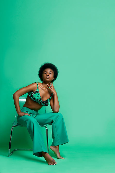 Colourful Female Editorial Photography