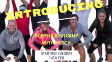 Bodyfix Bootcamp Commences Tues 14th Feb 2017.