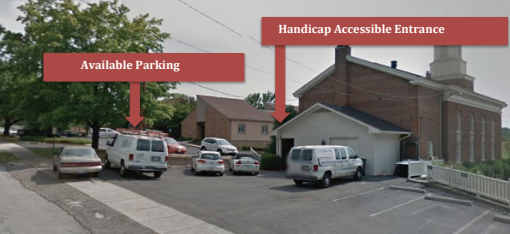 Accessible Entrance & Parking