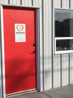 Our red door! ;)
