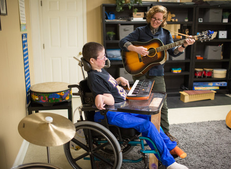 Meet our Music Therapist: Catherine!