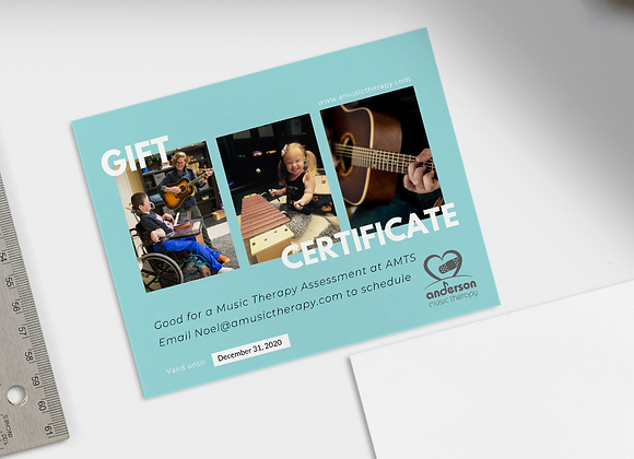 Music Therapy Assessment Gift