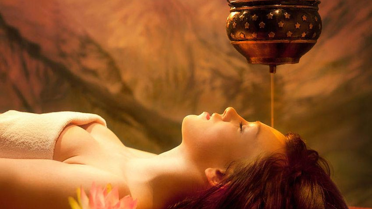 Shirodhara Treatment - Anxiety Relief
