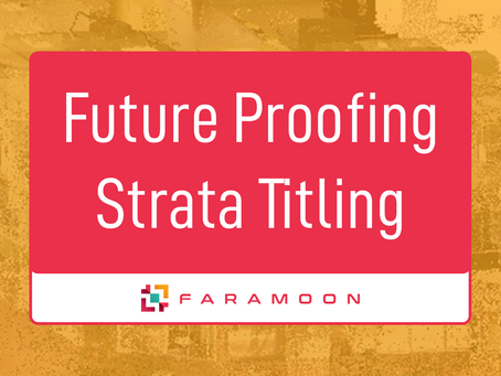 Future Proofing Strata Titling