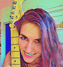 female guitar teacher
