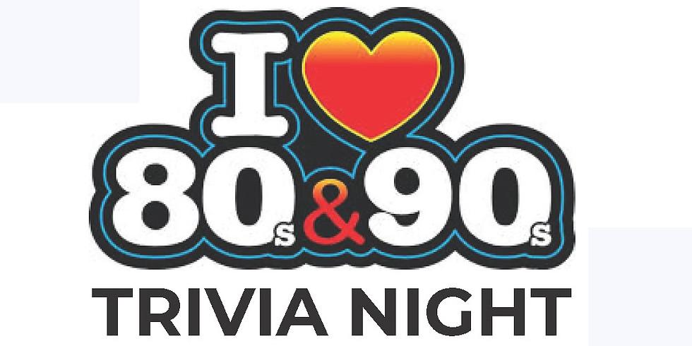 80s and 90s Trivia Night!