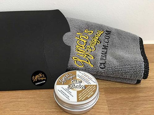 Lynch's Balm & Premium Towel combo/gift set