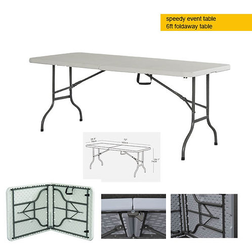 Portable EVENT table - 6ft folding