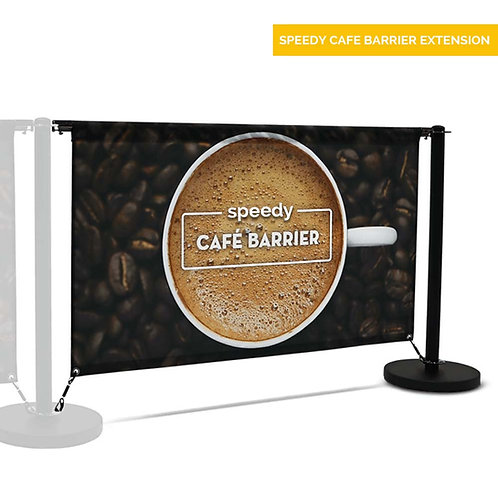 Speedy Cafe Barrier system - EXTENSION