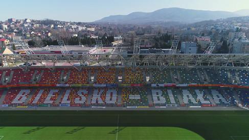 Stadion Miejski Bielsko-Biała z drona