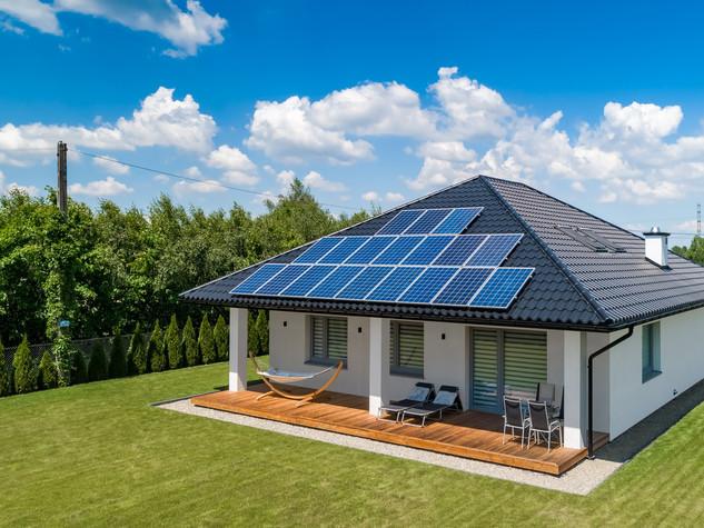 Zdjęcie z drona do katalogu Bruk-Bet Solar