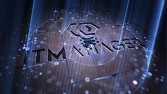 Animowane logo dla firmy IT MANAGER 3D