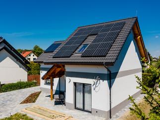 Sesja zdjęciowa instalacji fotowoltaicznej - panele słoneczne + kolektory dla firmy Hewalex Czechowice - Dziedzice 4