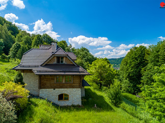 fotografia nieruchomości z drona Czernichów