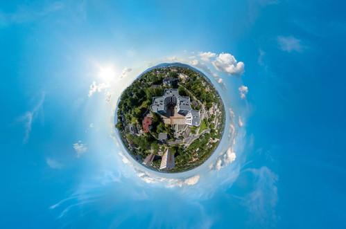 Zdjecia 360 panorama sferyczna z drona Dronteam 1