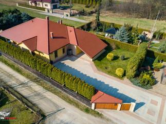 Zdjęcie z drona nieruchomości