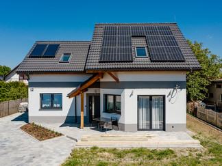 Sesja zdjęciowa instalacji fotowoltaicznej - panele słoneczne + kolektory dla firmy Hewalex Czechowice - Dziedzice 3