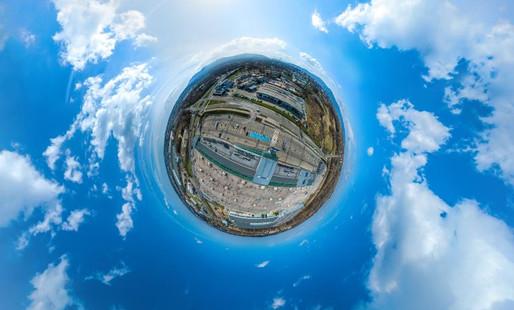 Zdjecia 360 panorama sferyczna z drona Dronteam 5