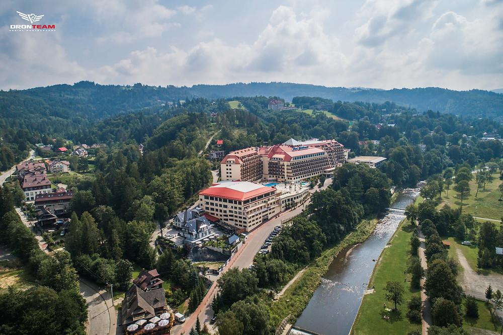 Dronteam Hotel Gołębiewski zdjęcie z drona