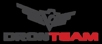 Logo Dronteam - usługi dronem & studio filmowe
