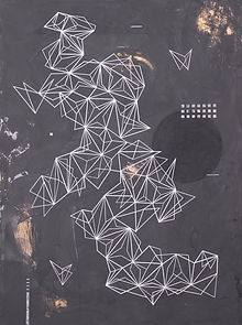 Cosmos - 150x110cm