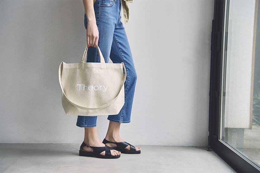 Theory Japan New Charity Tote