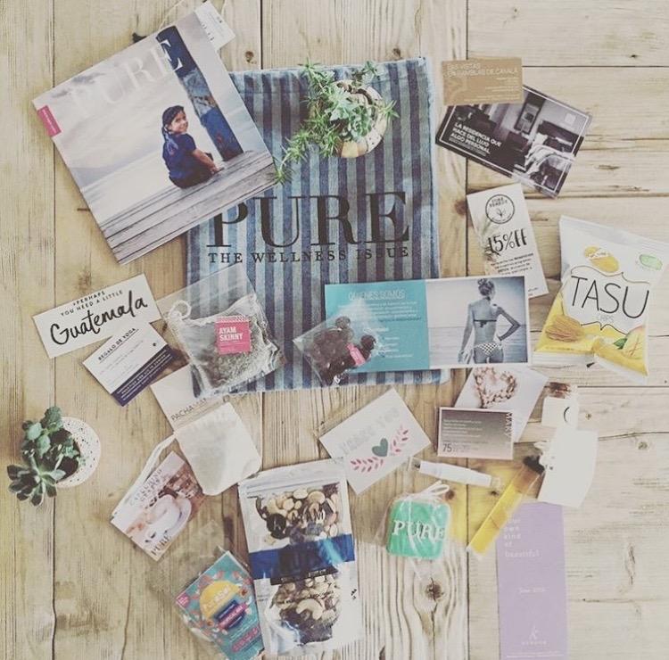 Pure Magazine giftbag