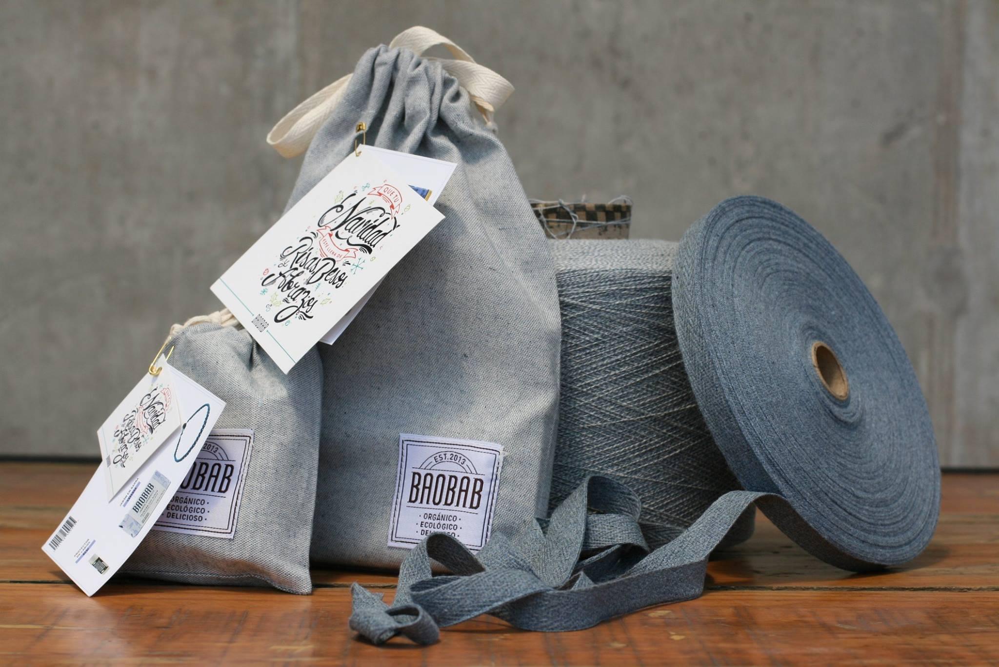 Baobab organic soaps packaging