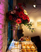 Brithday Party, Holiday Party, Roses, Rustic, Dessert