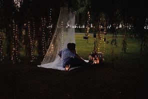 Fairy Light Proposal, Proposal, Engagement, Fairy Light, Romantic, Gorgeous, Lights