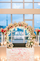 Penthouse, Hotel X, Marry Me Sign, Arch, Proposal, View, CN Tower, Love, Rose Petals, Roses