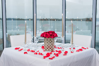 Flowers, Roses, Red, Proposal, Bouquet, Candles, Romantic