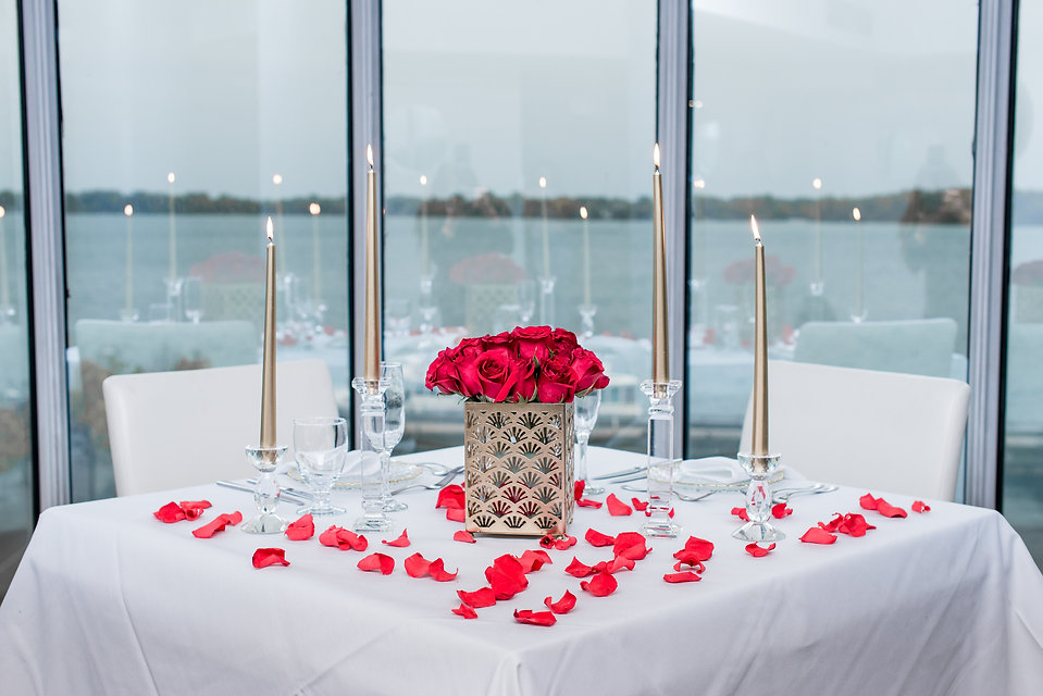 Proposal, Flowers, Engagement, View, Say Yes, Ocean, Candle Lit Dinner