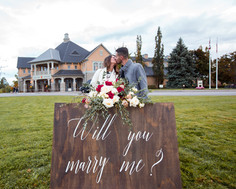 Proposal, Love, Engagement, Decor, Helicopter, Niagara Falls, Winery, Beautiful
