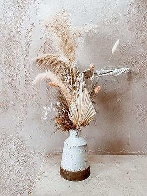 Seville, Dried Arrangement, Floral Arrangement, Proposal Arrangement, Feather Arrangement