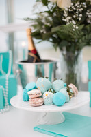 Tiffany Inspired, Proposal, Love, Blue, Snacks, Ringbox, Flowers, Candles