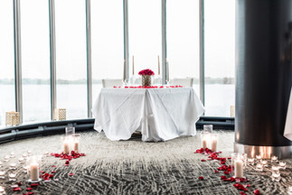 Flowers, Roses, Red, Aisle, Proposal, Bouquet, Candles, Romantic