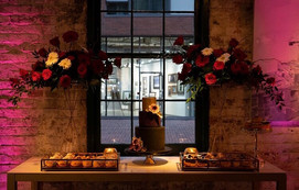 Brithday Party, Holiday Party, Roses, Rustic, Dessert, Cake