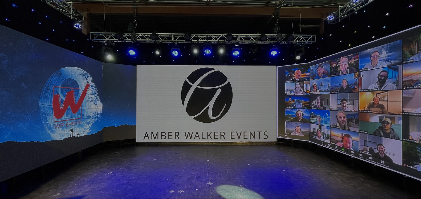 Amber Walker Events, Event Planner, Virtual Event, AV, Catering, Delivery, WPI Events, Zoom Call, Presentation, Conference, Meeting