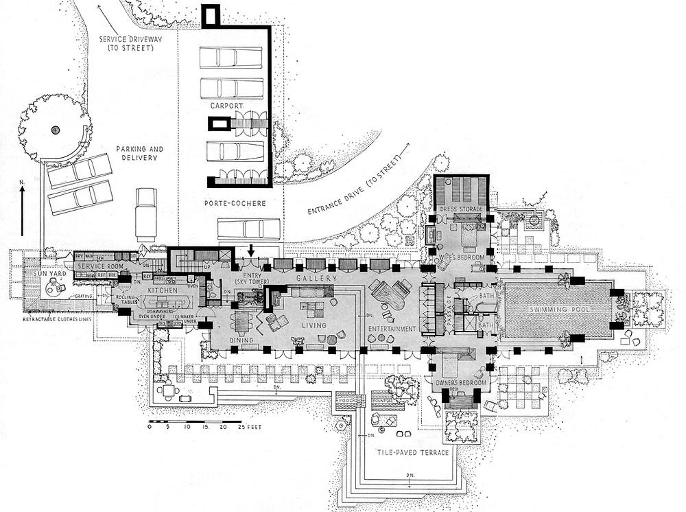Corbett Housefloor plan