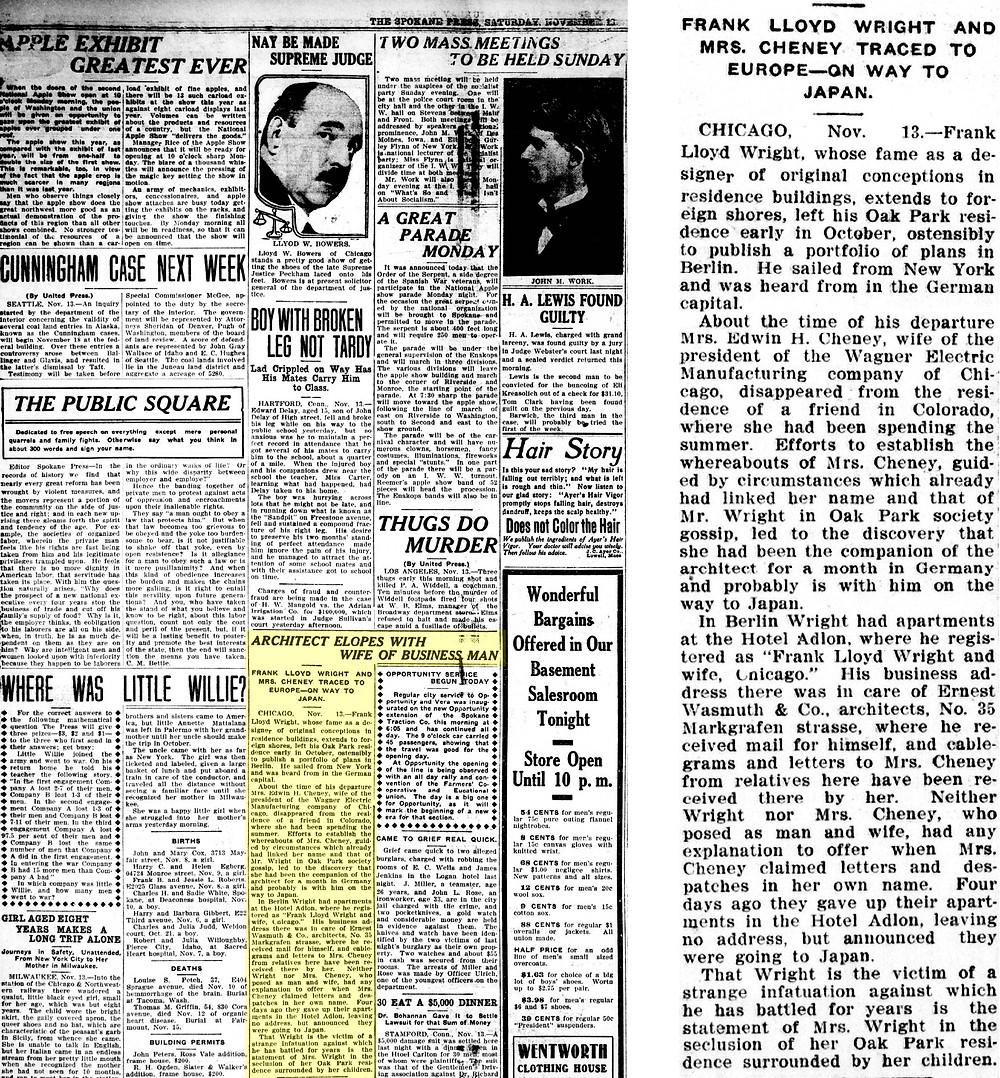 The Spokane Press (November 13, 1909)
