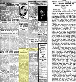 Frank Lloyd Wright's Scandals