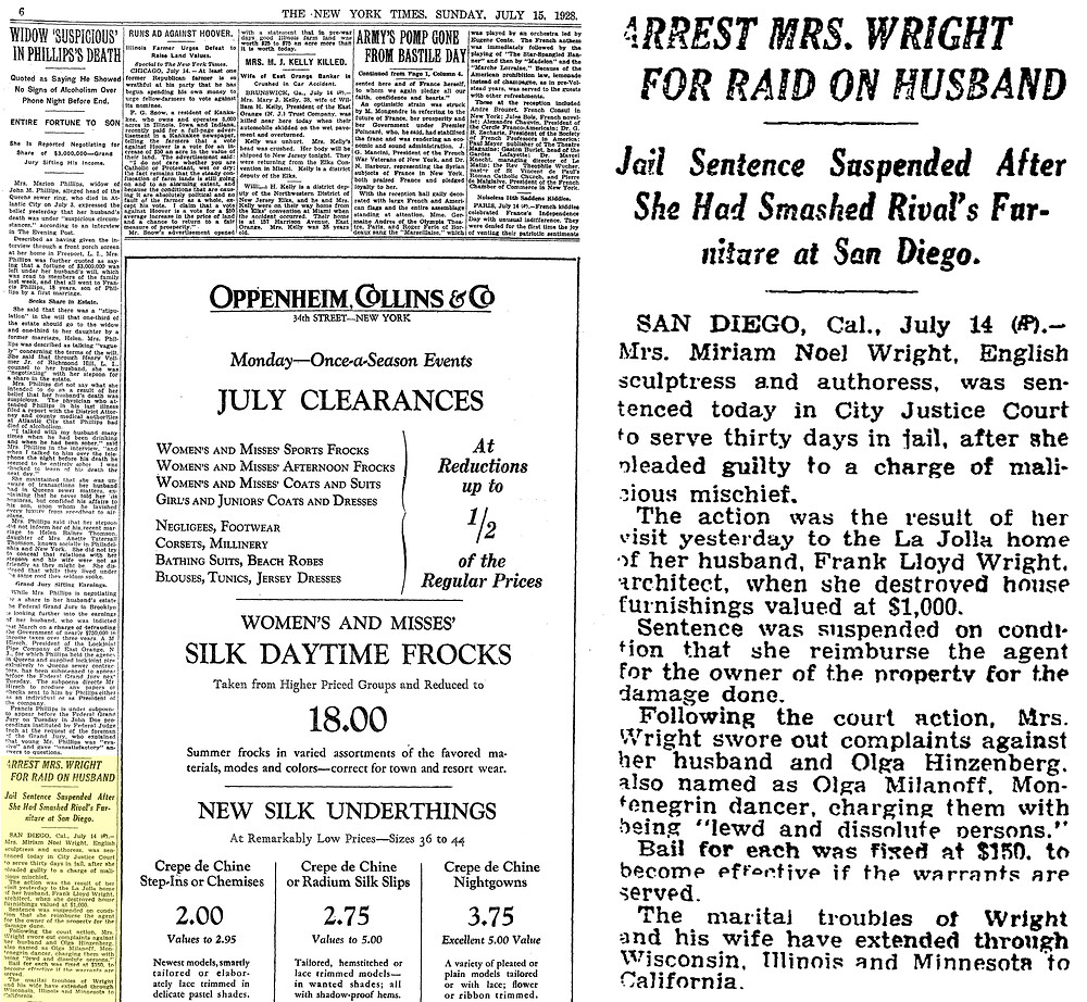 The New York Times (July 15, 1928)
