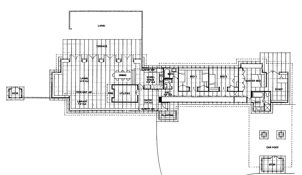 Tonkens House floor plan