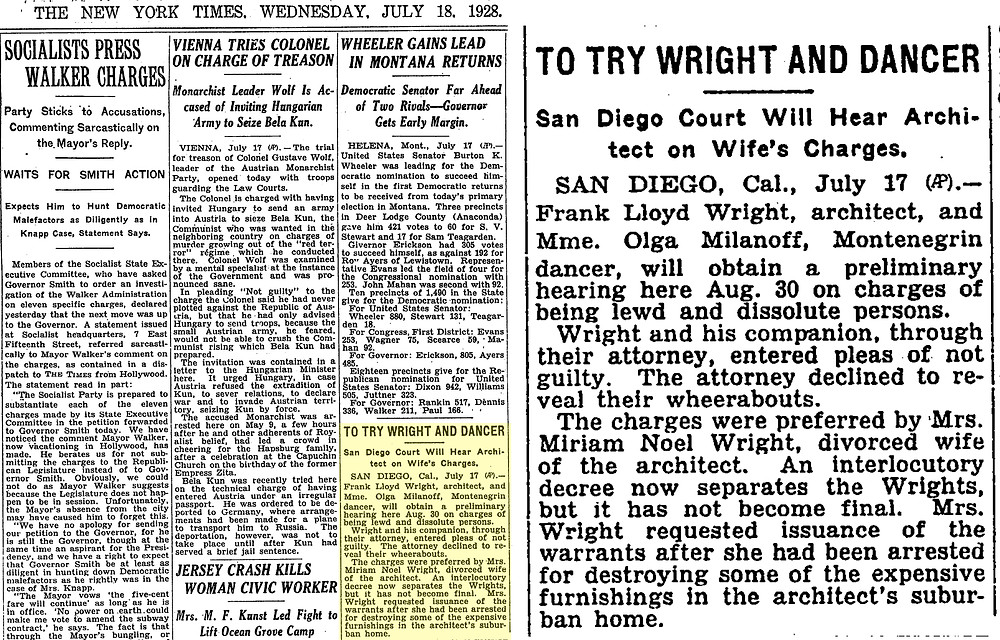 The New York Times (July 12, 1928)