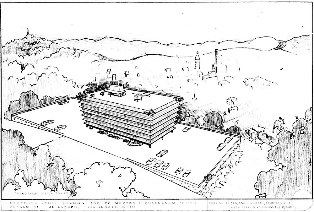 Panorama Office Tower—Proposed Office Building for Mr. Morton I. Rosenbaum